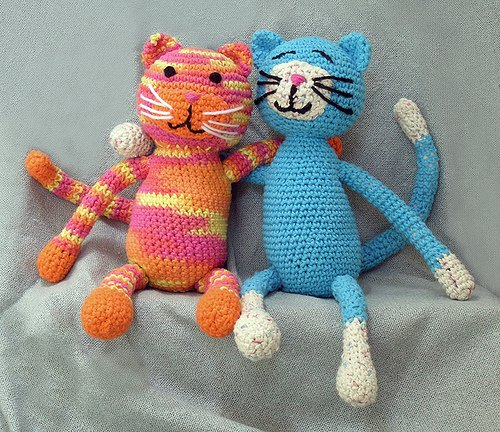 вязаные игрушки своими руками схемы вязания крючком и спицами