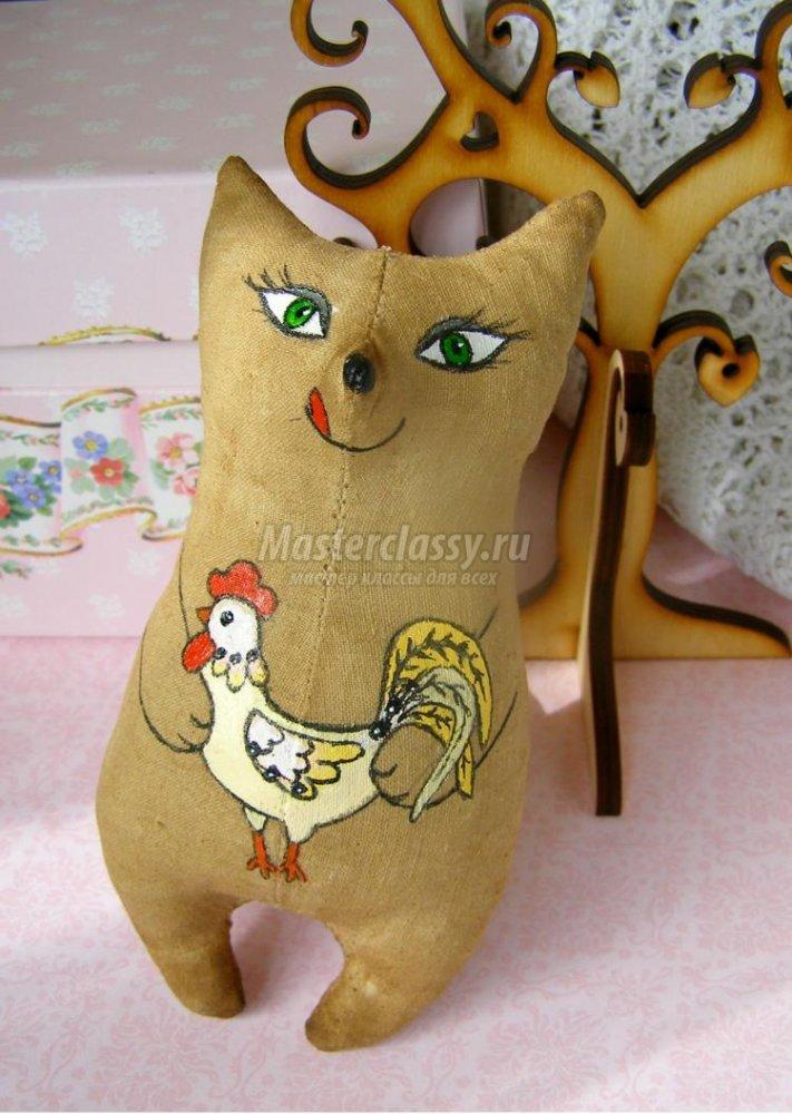 1461785661_1405246771_1 Как сшить кофейную игрушку своими руками. Кофейные игрушки: выкройки зайца, лошади, мишки, собаки, а также мастер-класс по шитью кофейного котика