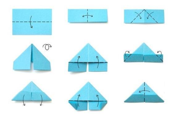 обладают оригами из модулей для начинающих в картинках пошагово выносят первый план