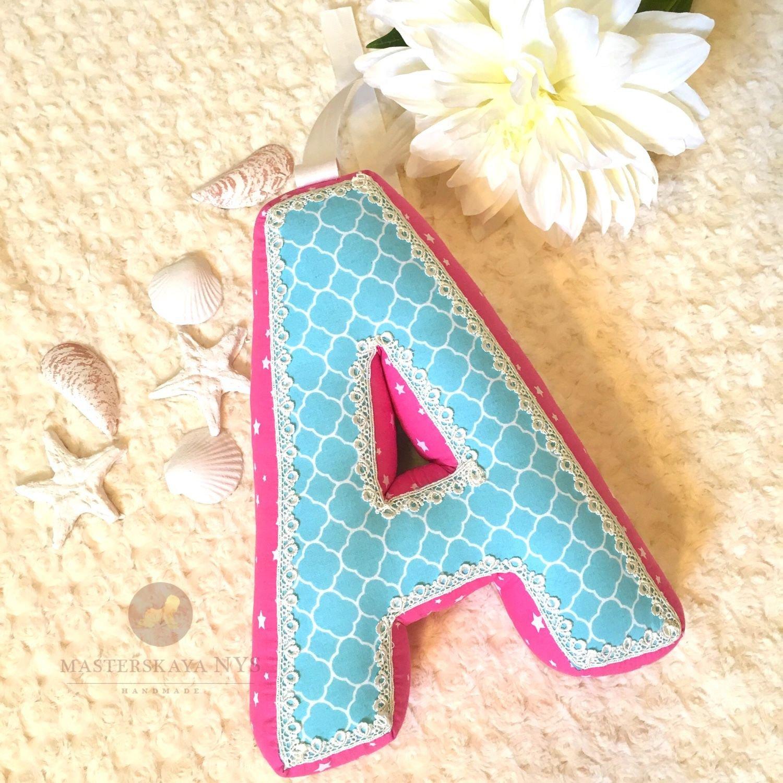 Мягкие буквы подушки выкройки весь алфавит