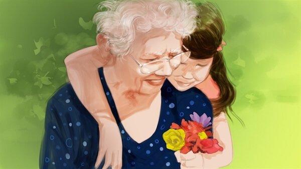 Как сделать подарок любимой бабушке