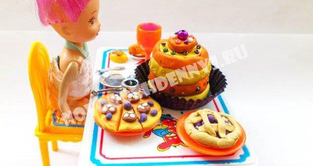 1466512311_eda-plastilin909-620x330 Как сделать еду для кукол из пластилина: еда для монстер хай и для барби