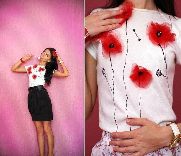 декор одежды своими руками идеи и фото декорирования бисером и