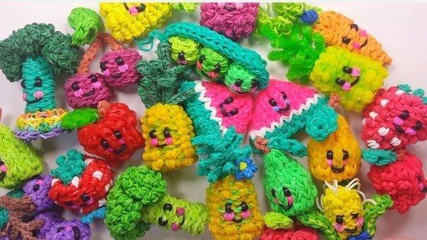 1467314849_figurki_iz_rezinok_1 Плетение из резинок на крючке для начинающих: уроки как делать фигурки, игрушки и плести браслеты