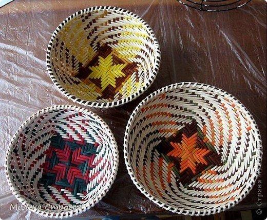1469988739_34532793 Как плести из трубочек для плетения: корзинки для начинающих с фото