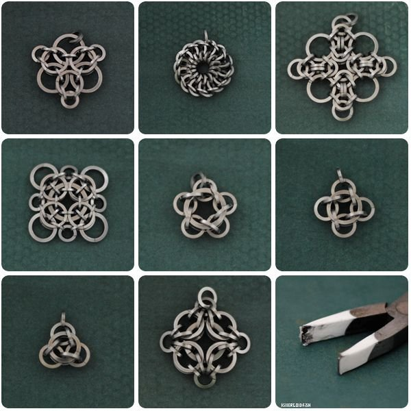 1469992843_0_14c77c_cb971c78_orig Плетение из проволоки для начинающих: бижутерия и ручка. Плетение из колец проволоки