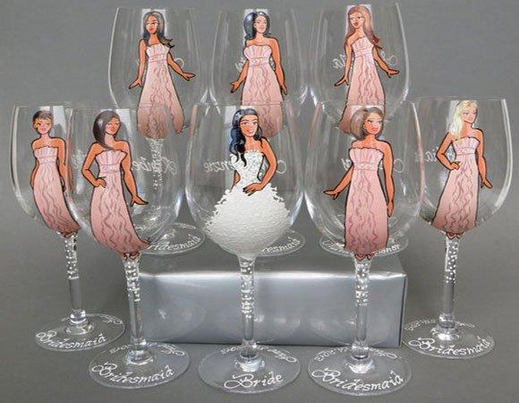 1470489231_ukrashenie-svadebnih-bokalov-rospis Свадебные бокалы своими руками - фото и способы оформления