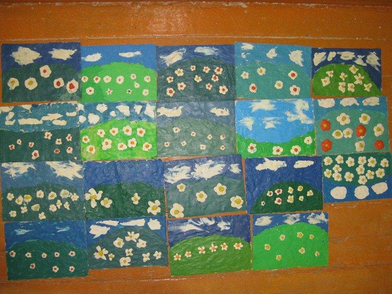 1472500790_124002038 Аппликации из пластилина на картоне для детей с фото и видео