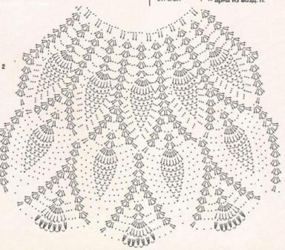 Узор ананасы спицами схема фото 818