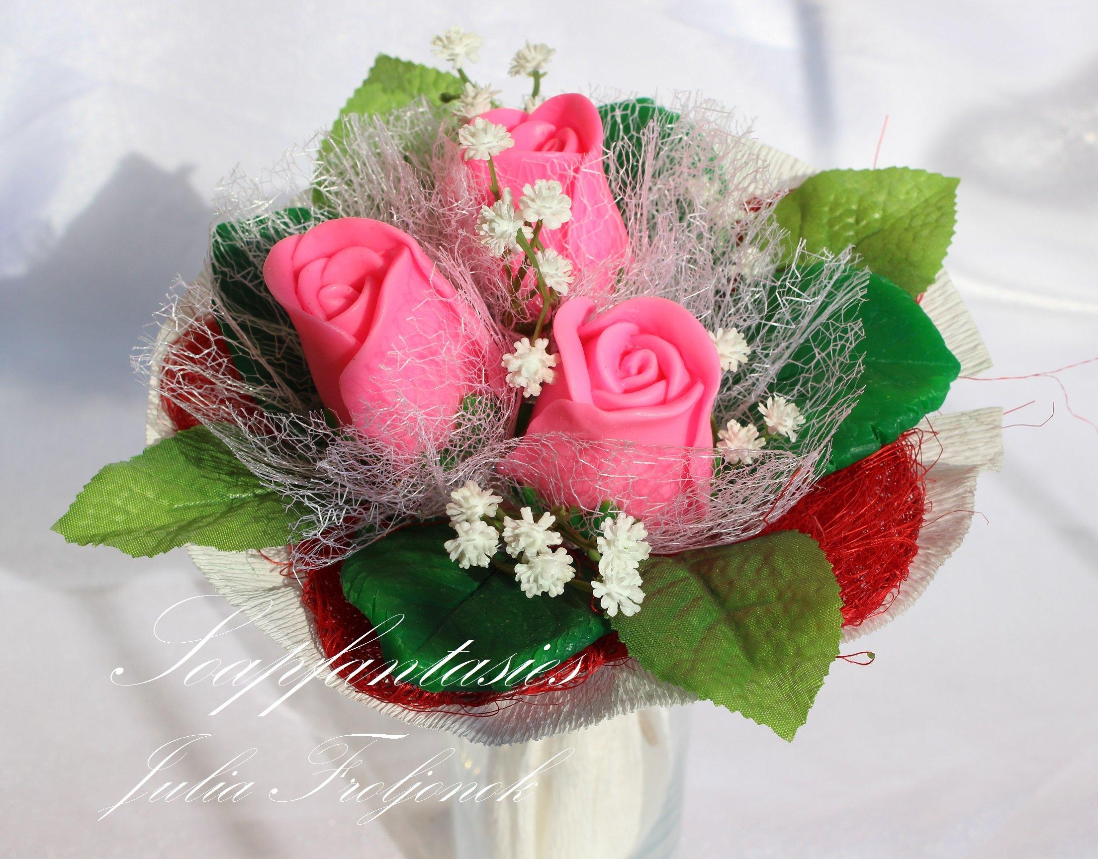 Цветы из мыла своими руками фото фото 115