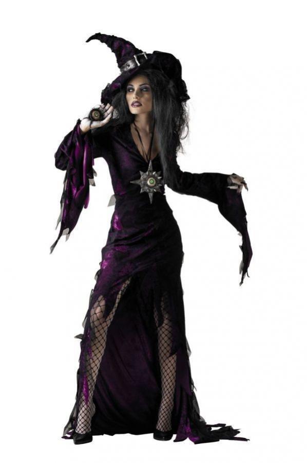 1477867846_207-kostyum-temnoy-vedmy Костюм ведьмы своими руками фото. Делаем костюм ведьмы на Хэллоуин своими руками. Как воплотить задуманный образ