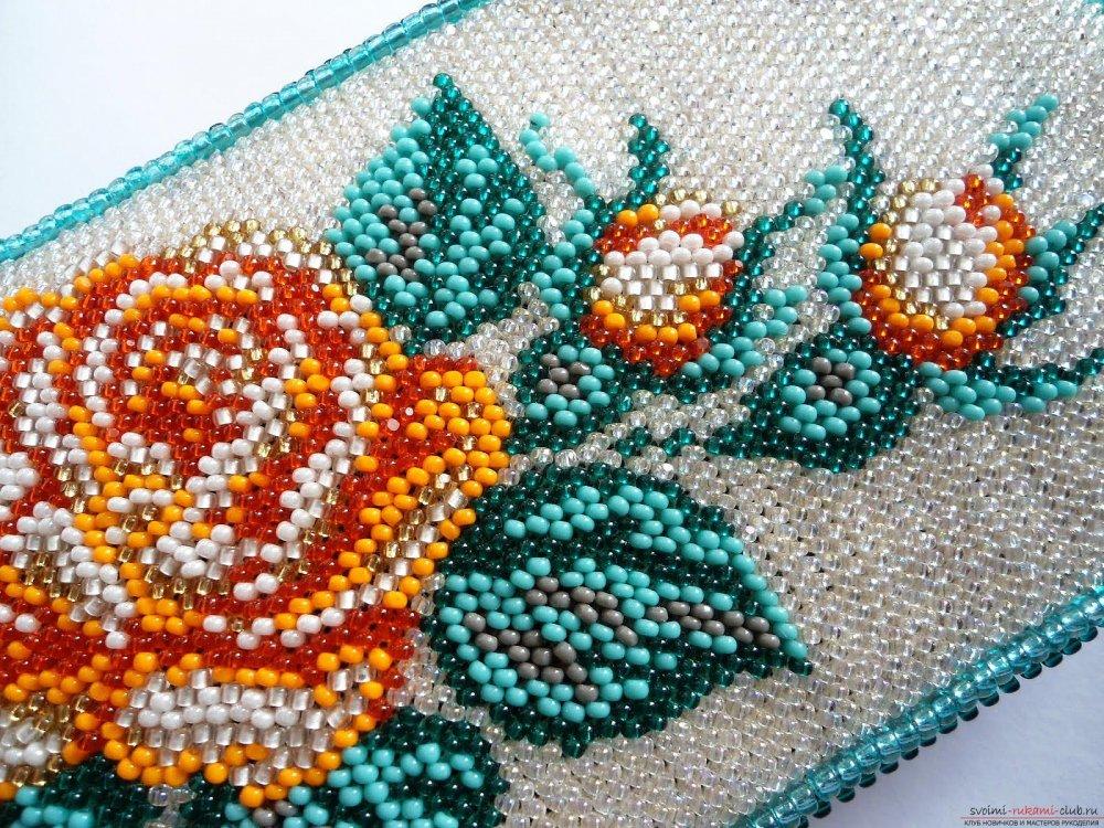 Техника вышивки бисером для начинающих
