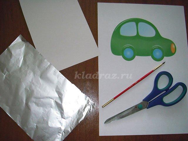Шаблоны для чеканки по фольге для детей