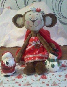 Мягкая игрушка обезьянка своими руками: легко сделать и приятно подарить