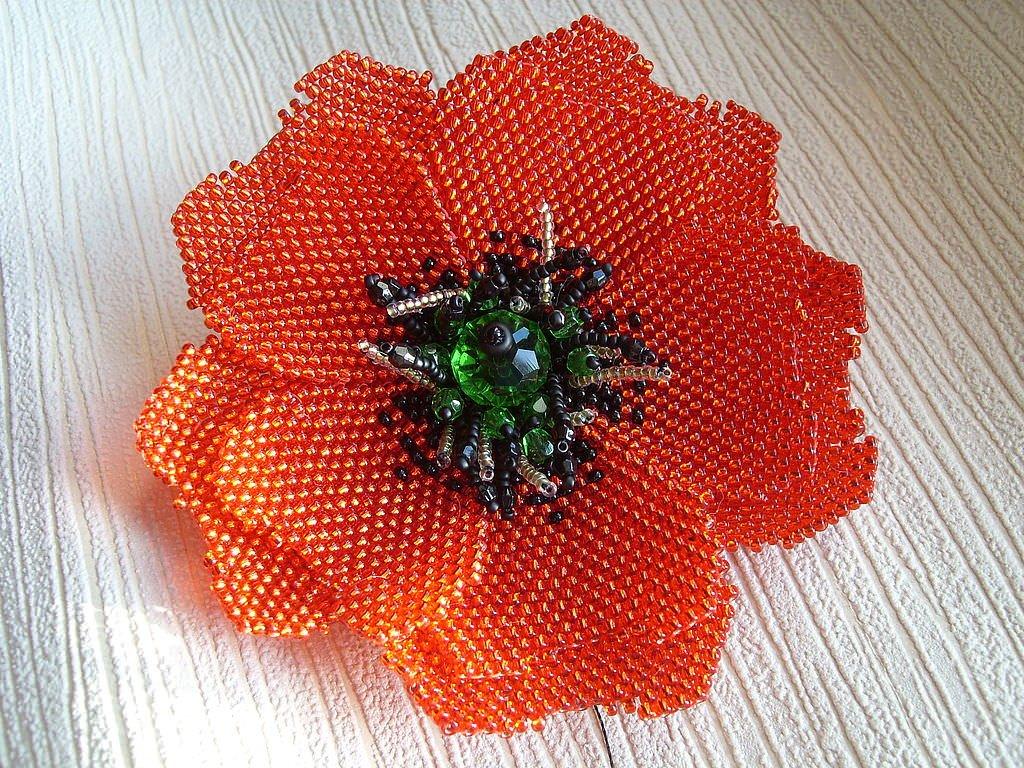 Одуванчик цветок из фоамирана