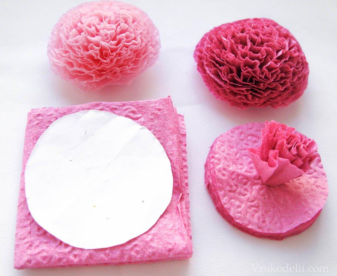 Как сделать шар для бумажных цветов