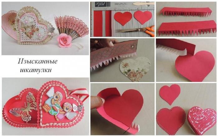1481311564_901285 Как сделать шкатулку для украшений из картона или коробки своими руками: 5 пошаговых мастер-классов с фото