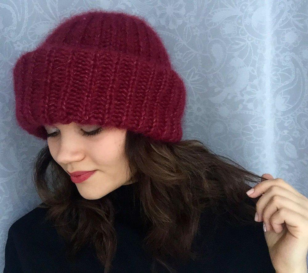 шапка такори схема вязания и мастер класс с фото