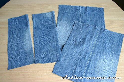 d9f72a5df73b Учимся шить юбку из старых джинсов своими руками с аппликацией для девочки