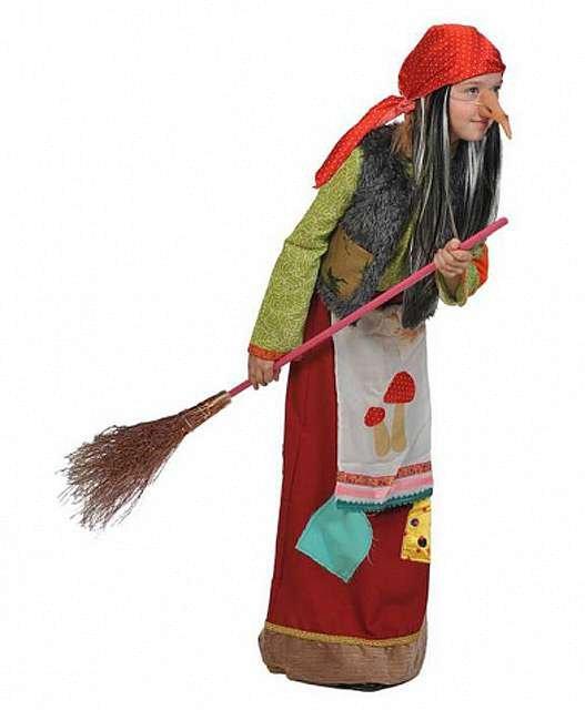 Выкройка костюма бабы яги