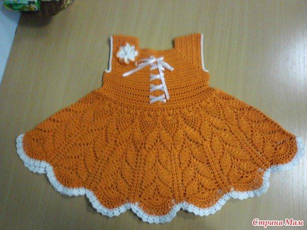 квадратная кокетка крючком схемы для детского платья и мастер класс