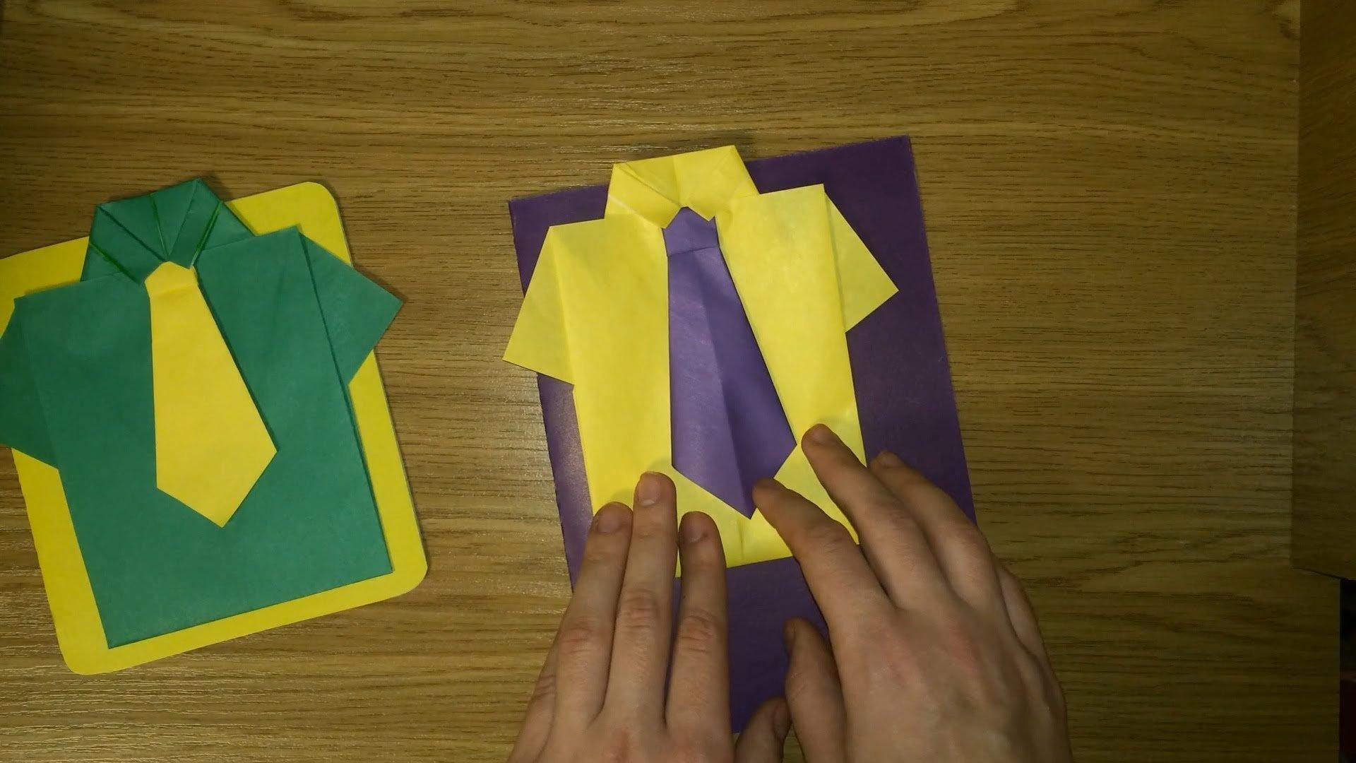 Открытка к 23 февраля оригами, смешные