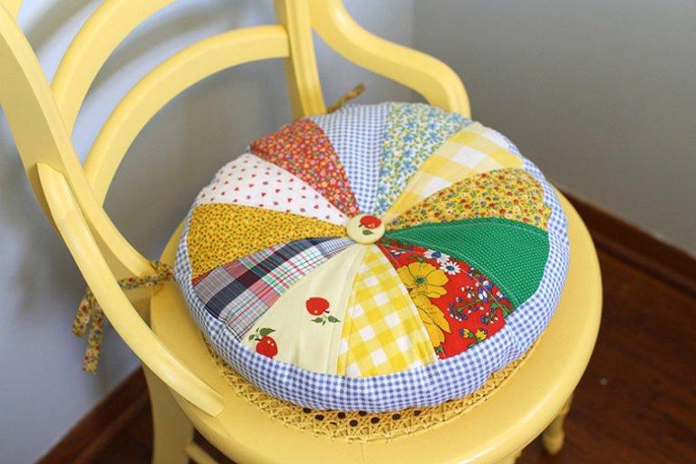 Подушка для стула своими руками