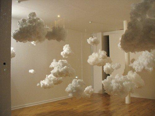 Как сделать объемные облака из бумаги своими руками