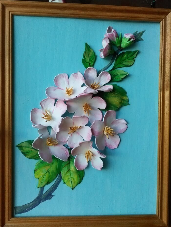 1492345284_1-039 Цветы из фоамирана пошагово. Как сделать цветы из фоамирана своими руками, маленькие, большие, ростовые цветы, полевые, розы. Картины из фоамирана своими руками. Фоамиран с Алиэкспресс