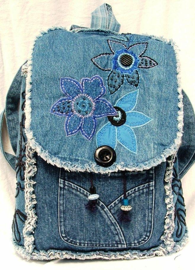 1493753327_76c7859a9893f73868499b6f1859fee1 Что можно сделать из старых джинсов? Как сшить юбку, тапки, фартук, жилетку, покрывало, шорты, рюкзак, детский сарафан, сумку из старых джинсов своими руками?