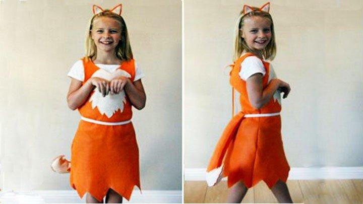 Карнавальные костюмы для девочек своими руками