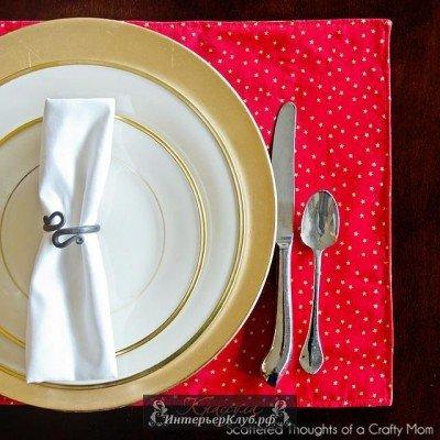 Салфетки под тарелки на стол своими руками