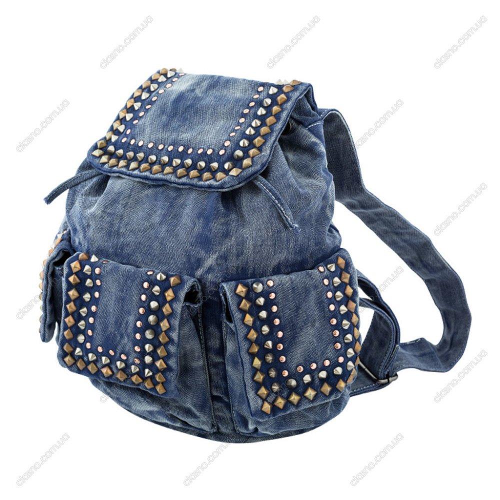 1493753328_1583800b Яркий рюкзак из старых джинсов