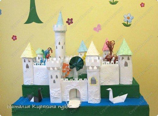Поделка средневековый замок