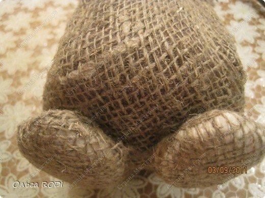 Домовёнок из мешковины своими руками: мастер класс с фото