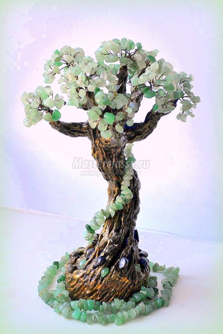 Как сделать дерево из камней фото 317