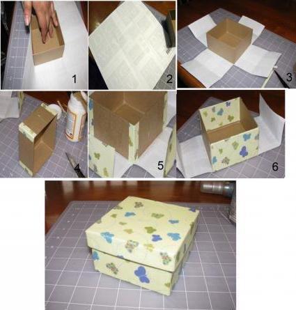 1506282017_1143125 Как обклеить коробку бумагой: мастер класс и схема, пошаговые фото, видео, МК